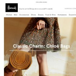 [Harrods] Covetable Chloé: New bags to love
