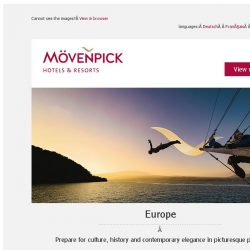 [Mövenpick Hotels & Resorts] Lavish last-minute summer deals