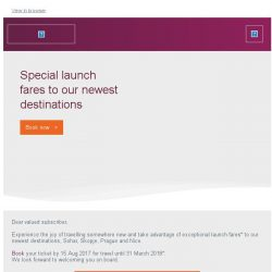 [Qatar] Special launch fares to Prague, Skopje and more.