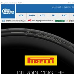 [Chain Reaction Cycles] Introducing: Pirelli Tyres
