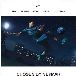 [Nike] Neymar's Picks: From the Pitch to the Street