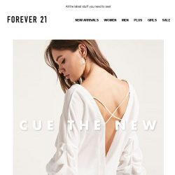 [FOREVER 21] Is that new???