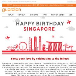 [Guardian] Celebrate Singapore with Deals Hotter Than the Weather!
