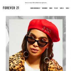 [FOREVER 21] BE BOLD🌹