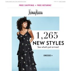 [Neiman Marcus] Ready for something new? 1,000+ arrivals