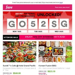 [Fave] Singapore savings unlocked: Get your Fave inside!