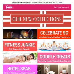 [Fave] We're celebrating all things Singapore inside!