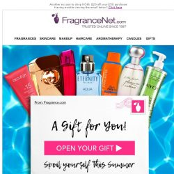 [FragranceNet] $20 - Our Gift to You, FragranceNet Insider