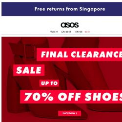 [ASOS] Up to 70% off | Shoes and tops