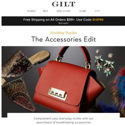 [Gilt] The Accessories Edit: All the finishing touches your wardrobe needs now