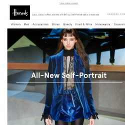 [Harrods] If you like Self-Portrait, you'll love this…