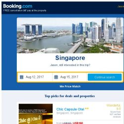 [Booking.com] Deals in Singapore, Jason – come take a look!