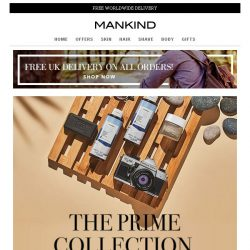 [Mankind] The Prime Collection | Exclusive 15% off inside plus FREE gift