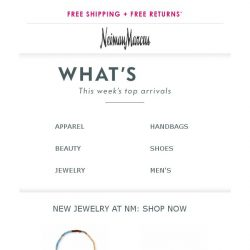 [Neiman Marcus] This just in! 148 new arrivals