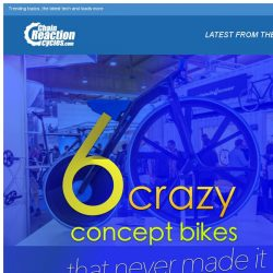 [Chain Reaction Cycles] 6 crazy concept bikes that never made it