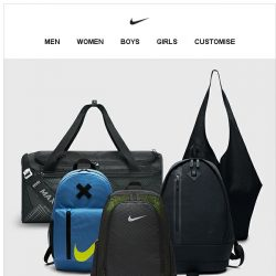 [Nike] Our 5 Favorite Bags for Any Sport or Style