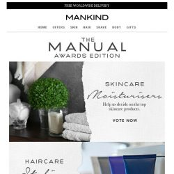 [Mankind] The Manual: Awards Edition