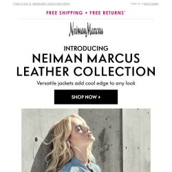 [Neiman Marcus] New exclusive leather collection
