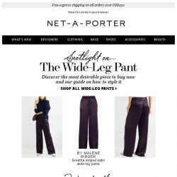 [NET-A-PORTER] Meet the pants you'll wear from work to weekend