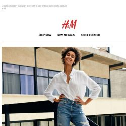 [H&M] Discover our new denim styles