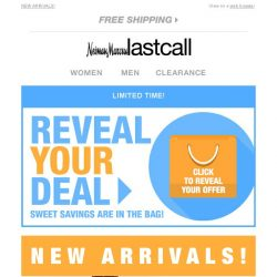 [Last Call] Your deal is waiting to be revealed (top brands!)