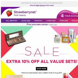 [StrawberryNet] , Take Extra 10% Off All Value Sets!