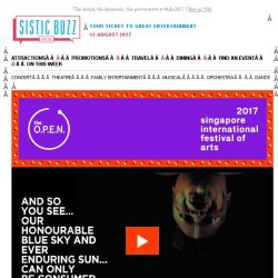 [SISTIC] The absurd, the humorous, the provocative at #sifa2017