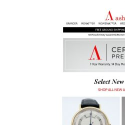 [Ashford] Certified Pre-Owned Watches - Exciting New Selection