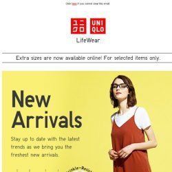 [UNIQLO Singapore] These just came in!