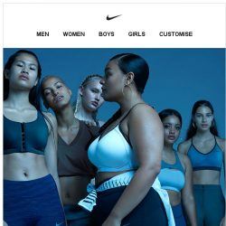 [Nike] Indigo Collection: Soft and Strong