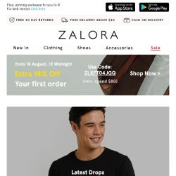 [Zalora] In a style rut? New arrivals just for you!