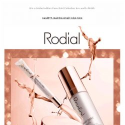 [RODIAL] NEW Rose Gold Collection - Our Most Luxurious Anti-Ageing Skincare Launch