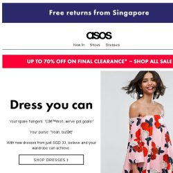 [ASOS] Don't stress over a new dress