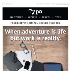 [typo] Take $10 off and work anywhere with Typo