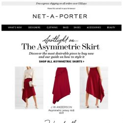 [NET-A-PORTER] The skirt you need and how to wear it