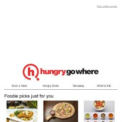[HungryGoWhere] Weekly makan joints just for you,