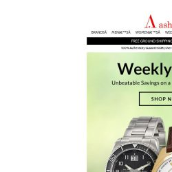 [Ashford] New Weekly Deals Start Today