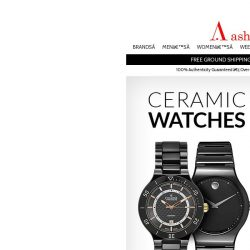 [Ashford] Ceramic Watches: Luxury Watches Forged in Fire