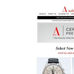 [Ashford] Certified Pre-Owned - Exciting New Selection!