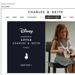 [Charles & Keith] Disney Alice in Wonderland Collection by  LITTLE CHARLES & KEITH