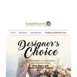 [Floweradvisor] These Hand-Selected Collections by Our Flower Guru Can't be Wrong