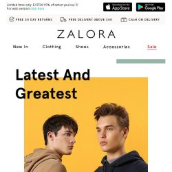 [Zalora] Weekly Arrivals: New never looked so good!