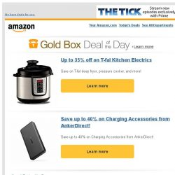 [Amazon] Up to 35% off on T-fal Kitchen Electrics
