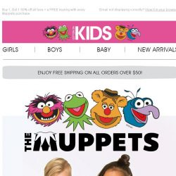 [Cotton On] We've gone Muppets-mad with a special offer on all Tees!