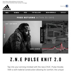 [Adidas] Z.N.E. : The Pulse Of Sport