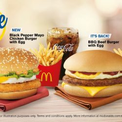 McDonald's: NEW Black Pepper Mayo Chicken Burger with Egg + More $5 Extra Value Meals™ to Choose From!