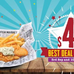 The Manhattan FISH MARKET: Enjoy 2pc Dory 'n Chips at $4.99 for 2 Sundays!