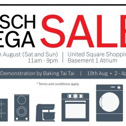 Mega Discount Store: Bosch Mega Sale with Up to 70% OFF Home Appliances at United Square