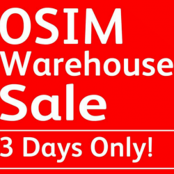 OSIM: Warehouse Sale Up to 60% OFF Display Set Products