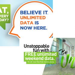 NEW Mobile Plans from M1 & StarHub with Unlimited Data